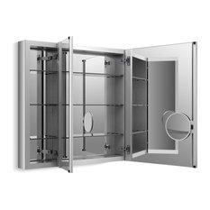 "Kohler Verdera Slow-Close Medicine Cabinet With Magnifying Mirror, 40""x30"""