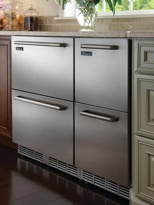 undercounter freezer drawer houzz. Black Bedroom Furniture Sets. Home Design Ideas