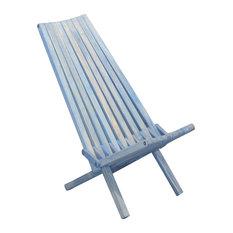 GloDea Foldable Outdoor Lounge Chair X45, Sky Blue