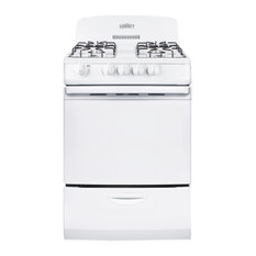 """Summit 24"""" Freestanding Gas Range with 3.0 cu. ft. Oven Capacity"""