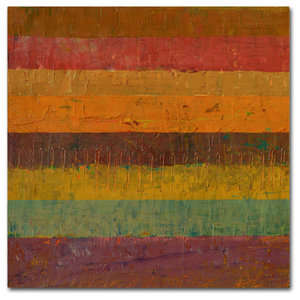 Checkers And Stripes Canvas Art By Michelle Calkins Traditional Prints And Posters By Trademark Global Houzz