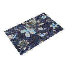 Mathilda Floral Pattern Doormat, Multicoloured