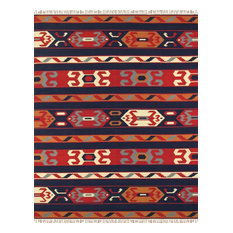 "Pasargad Anatolian Collection Hand-Woven Cotton Area Rug- 9' 0"" X 12' 0"""