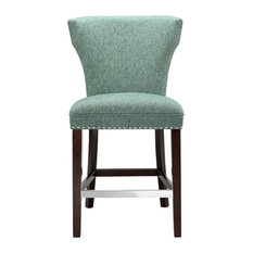 Madison Park Churchill Counter Stool, Teal