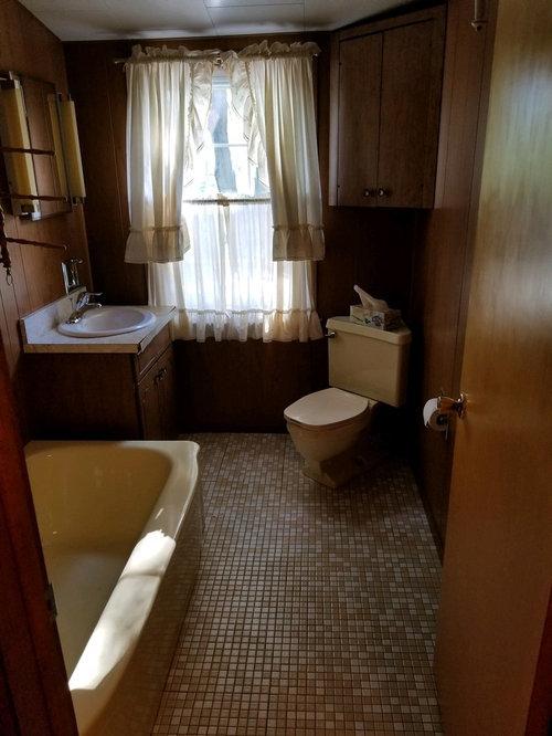 Help Updating Awkward Ugly Bathroom