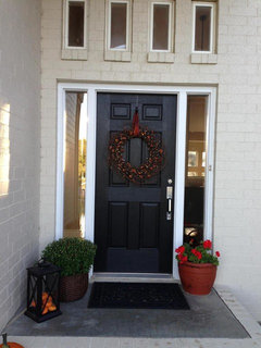 Perfect Bm Glossy Black Shade For Front Door