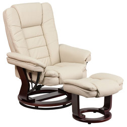 Transitional Recliner Chairs by GwG Outlet