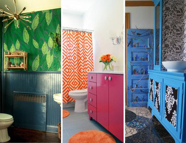 Luxury  Personalized Bathrooms That Aren ut Afraid of Color