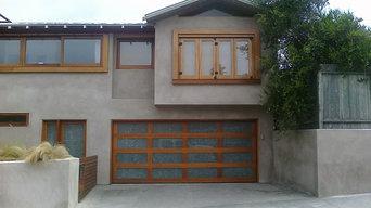 Genuine Mahogany & Custom Glass Door in San Diego