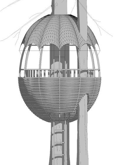 Exterior Elevation by Архитектурная мастерская Алексея Козыря