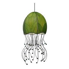 Jellyfish Hanging, Green