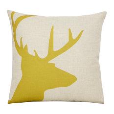 "18x18"" Linen Cotton Square Throw Pillow Decorative Pillow Sofa Decorative #9"