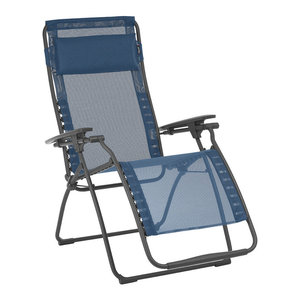 Gravity Free Lounger With Pillow Dark Gray No Canopy