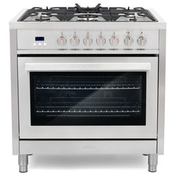 Contemporary Gas Ranges And Electric Ranges by Cosmo