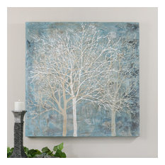 """Uttermost """"Muted Silhouette"""" Canvas Art, 39.5""""x39.5"""""""