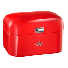 """Single Grandy"" Retro Storage Box, Red"