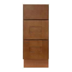 "Newport Vanity Drawer Base Cabinet, 12""x21""x34.5"""