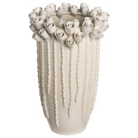 Marisol Vase, White, Medium