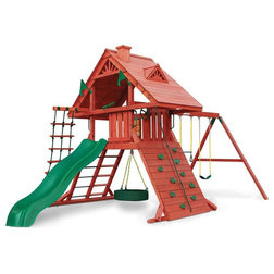 Contemporary Kids Playsets And Swing Sets by BisonOffice