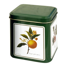 """Decorated Spice Tins Square, 3.5 """" Tall, Holds 3 Ounces"""