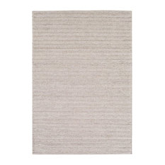 Luxury Rugz - Contemporary Area Rug, Karla Collection, Smoke, 6'x9' - Area Rugs