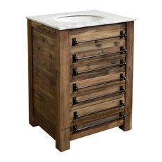 "26.5"" Reclaimed Pine Single Bath Vanity"