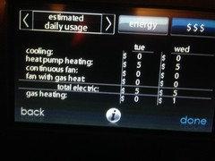 Carrier Greenspeed 25VNA Heat Pump Electricity Usage in Cold
