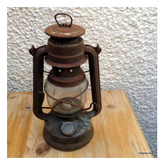 Antique Oil Lamp Rustic Oil Lamp Made in Germany