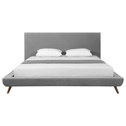 Midcentury Platform Beds by Inspired Home
