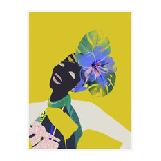 """Ayo"" Tropical Art Print, Print Only, 50x70 cm"