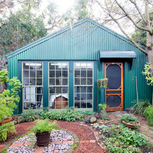 Creatives at Home: Dr Terri Brooks in Her Backyard Shed