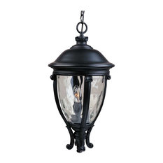 Maxim Lighting - Maxim Camden VX 3-Light Outdoor Hanging Lantern Black - 41429WGBK - Outdoor Hanging