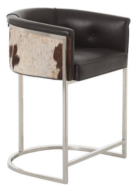 Calvin Low Barstool Transitional Bar Stools And