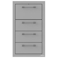 """Triple Drawer and Towel Holder Combo, 17"""""""