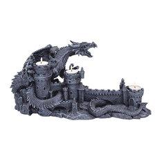 Dragon's Wrath Sculptural Candleholder