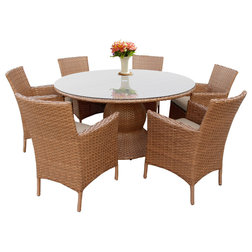 Fresh Tropical Outdoor Dining Sets by Design Furnishings