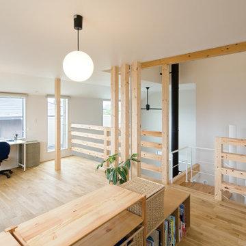 心地良い空間が紡ぐ、0(ゼロ)LDKのヒュッゲな家