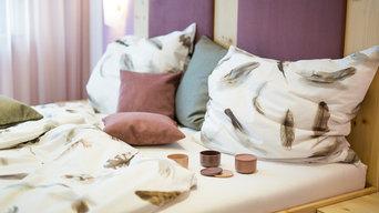 Gestaltung eines privaten Schlafzimmers
