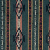 Striped Southwest, Navajo, Style Upholstery Fabric By The Yard