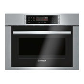 Bosch Speed Convection Oven, Stainless Steel