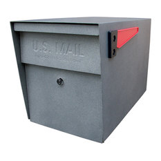 Mail Boss Locking Security Mailbox, Granite