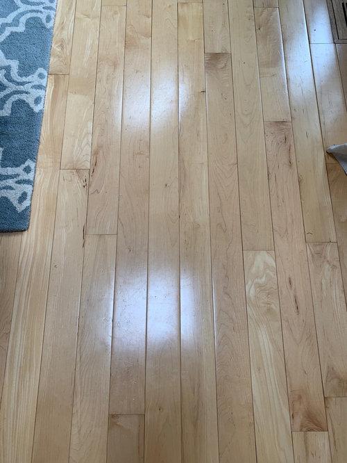 Refinish Maple Floor To Darken Stain