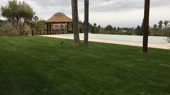 Trabajo realizado en una Villa en Marbella Hills