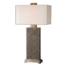 Uttermost Canfield Coffee Bronze Table Lamp