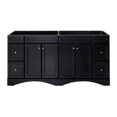 "Virtu USA Talisa 72"" Cabinet Only In Espresso"