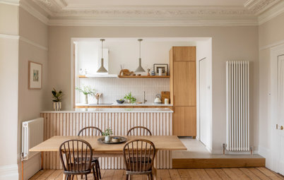 Houzz Tour: A Gorgeous Victorian Flat Redesigned on a Budget