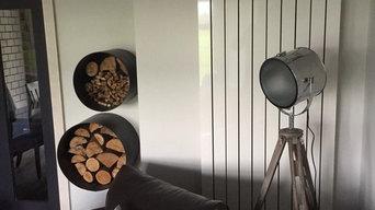 Modern Living space renovation