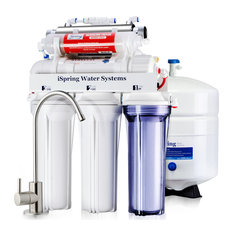 iSpring 7-Stage 75 GPD UV Alkaline Osmosis Water System RO