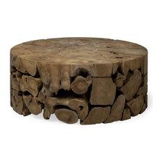 Melanthe Teak Wood Coffee Table