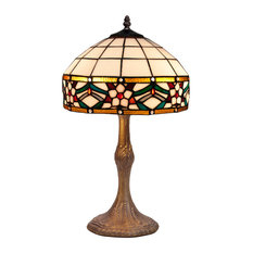 Museum Series Medium Table Lamp With Carved Base